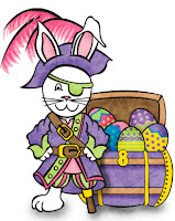Easter Pirate Bunny