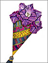 Flower Cone Mother's Day Card