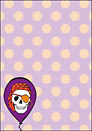 Printable Pirate Party Skull
