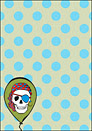 Printable Party Skull Invitation