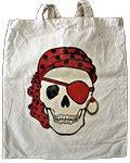 Pirate Skull Tote