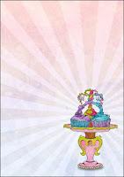 Printable Cupcake Invite