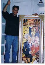 el actor JORGE SANZ adquirio dos cuadros de PACO