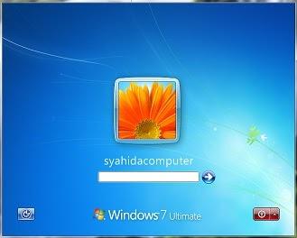 Cara mengganti background log on screen windows 7 ...