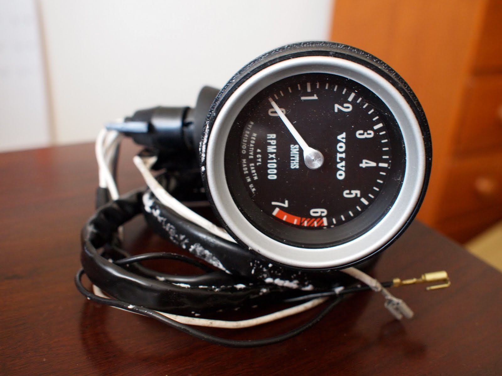 Planetsphere 123 Gt Tachometer Volvo Wiring In My Search For The Correct Tach I Encountered Many Other Variations Construction Scale And