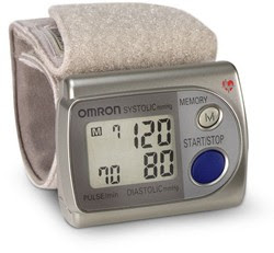 Omron's Ultra Compact Wrist Monitor to check Hypertension