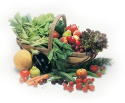 Foods for health that prevent aging - green leafy vegetables