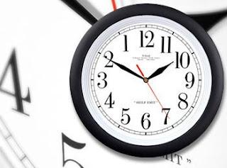 reloj marcha atrás