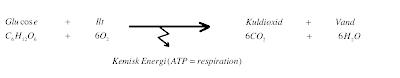 tilvækst i varmeenergi formel