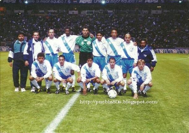 Resultado de imagen para club puebla 1999