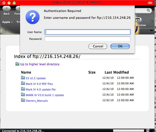 Granny Joan's Hitek Lady Blog: FTP on Mac using Firefox or Safari