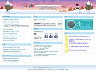 Personaliza tu pagina de inicio google  otras