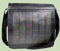 Maletin con paneles solares  gadgets