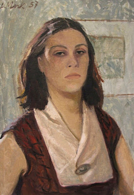 Lydia Vallimae Mark, Self Portrait, Portraits of Painters, Fine arts