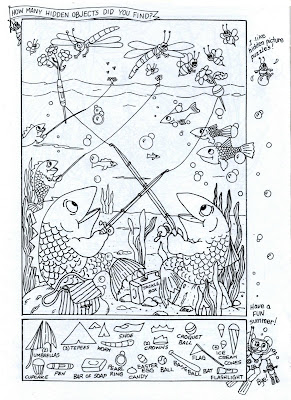 Hidden Pictures Publishing: Hidden Picture/Coloring Page