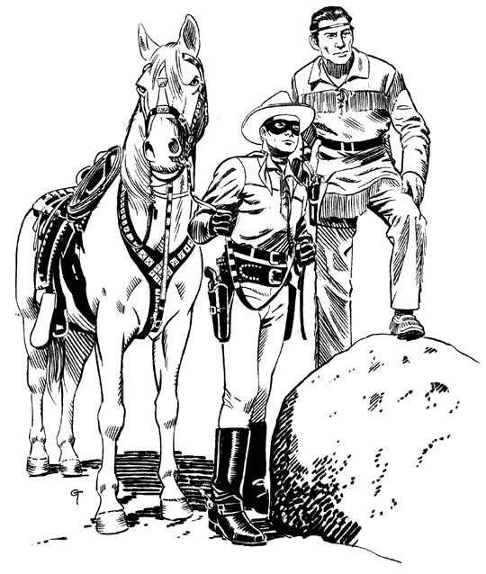 lone ranger lego coloring pages - photo#7
