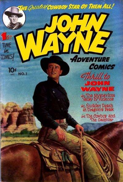 [John+Wayne+Adventure+Comics+]