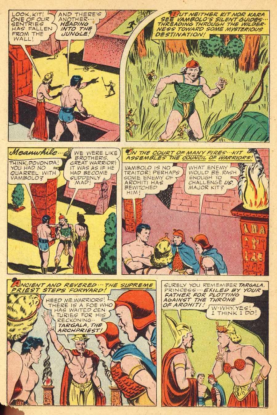 The Comic Book Catacombs: Kara the Jungle Princess (Better/Standard; 1945)