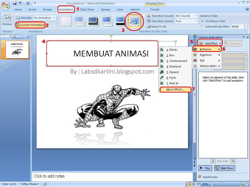 how to add a gif in powerpoint 2007