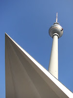 der Fernsehturm in Alexanderplatz, photo by Andie Gilmour