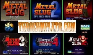 Coleção Metal Slug Anthology (