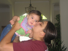 Aunt layla giving her Bella kisses