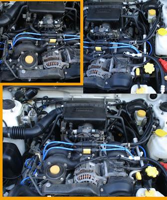 Fatih S Weblog Diy Subaru Forester Spark Plug Wire Set