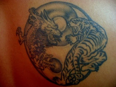 Scorpion Tattoo Ying Yang Tattoo Designs