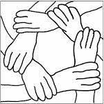 Il motto di Mani in rete