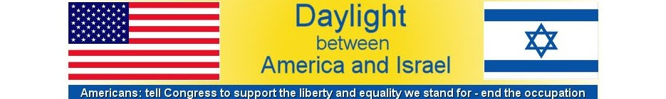 Daylight between America and Israel