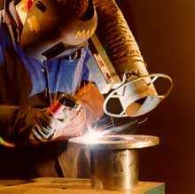 manual metal arc welding