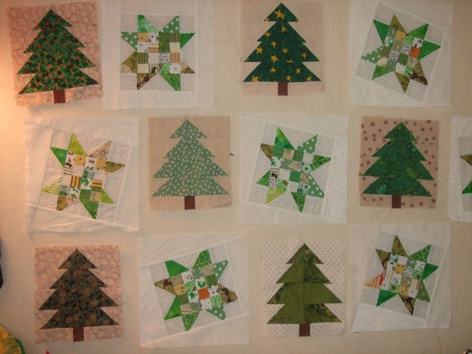 O'Quilts: Trees And Stars?
