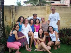 TURMA EDUCAÇÃO BIOCÊNTRICA/2005 (parte do pessoal que fez a Escola de Biodança também)