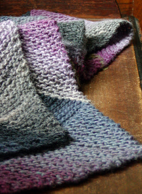 Knit Spit Multi Directional Diagonal Scarf