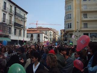 Soria se movilizó por la paz hace 5 años
