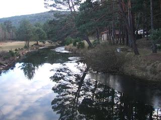 Río Duero a su paso por Covaleda (Soria). Enero de 2008