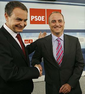 El Presidente del Gobierno, José Luis Rodríguez Zapatero con el Ministro de Industria, Turismo y Comercio, Miguel Sebastián