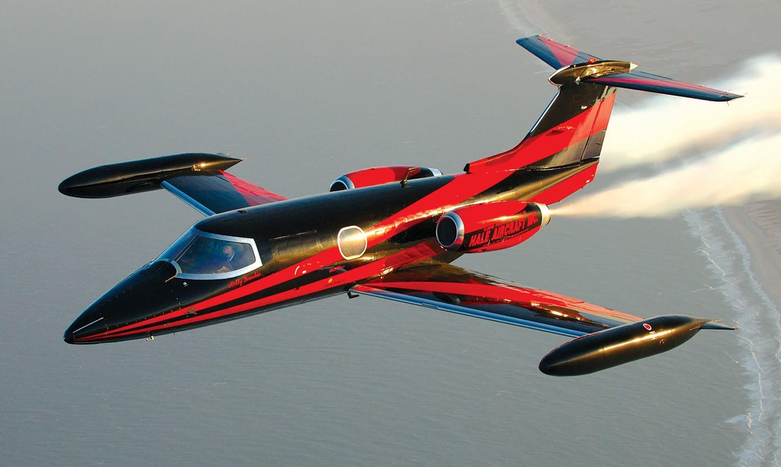 Cultura Aeron 225 Utica Learjet 23 O Av 244 De Todos Os Jatos