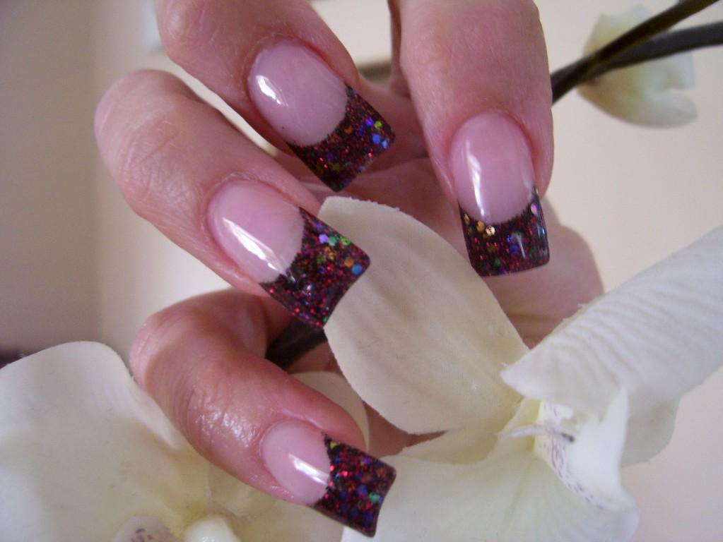 Nail Art Express: Glitter Nail Art Gallery