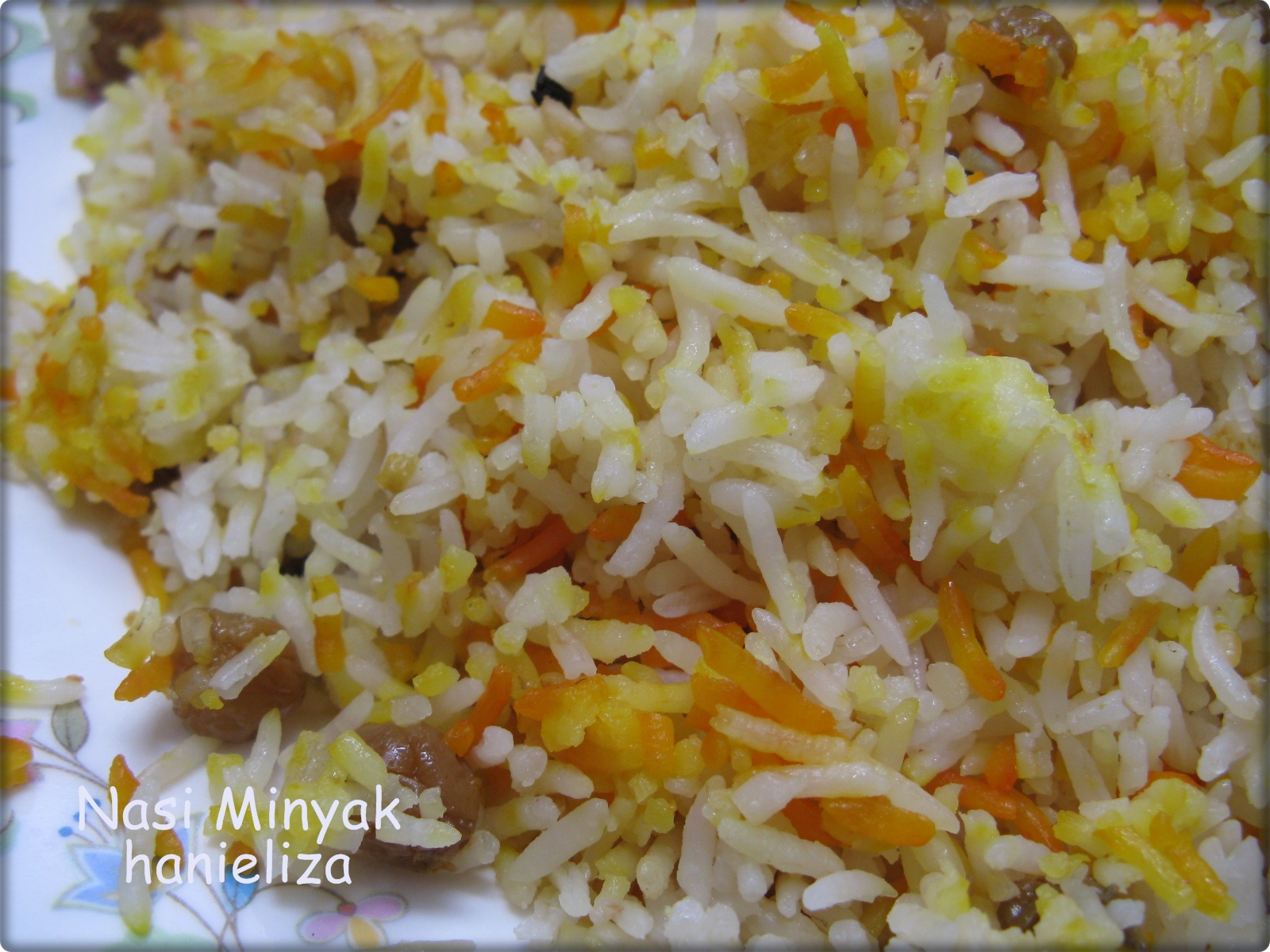 Hanieliza's Cooking: Nasi Minyak