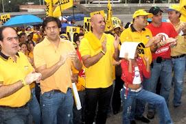 Con Julio Borges, Carlos Ocariz, Henrique Capriles y otros justicieros