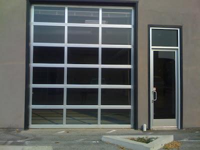 Global Fyzz Industrial Roll Up Door Now Featuring Glass