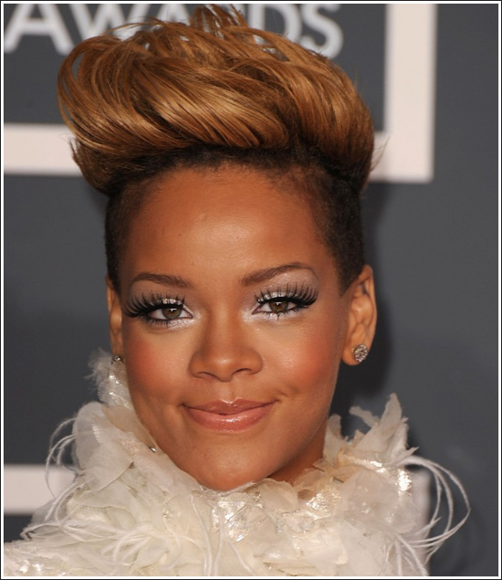 African American Rihanna Hairstyles Trends For Summer 2010
