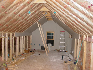 Finishing The Attic