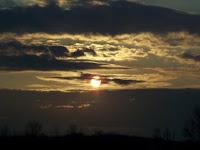 Sunset in Leroy