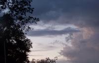 Sunset over Honeoye Lake
