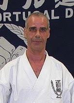 Treinador do Dojo - Mestre Francisco Altino Morais - 5.º Dan
