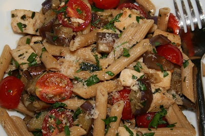 Spice Of Life: Penne With Eggplant And Swordfish