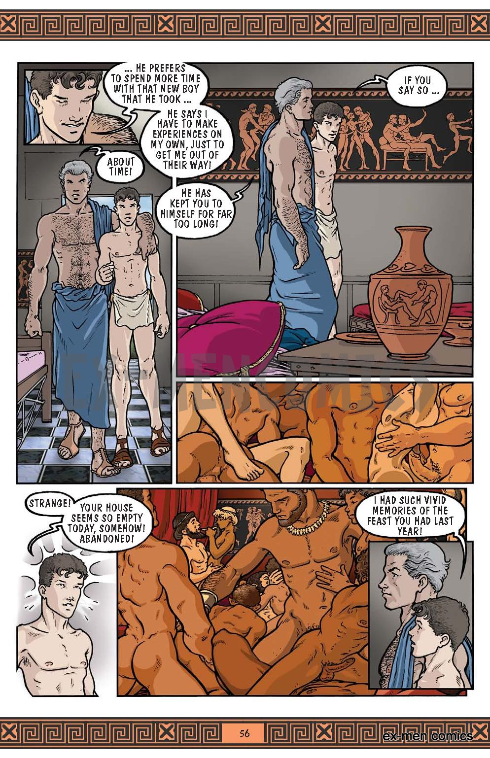 Ancient greek gay sex tube first time he 10