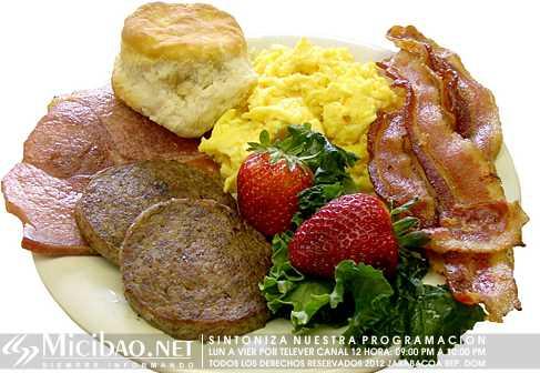 Desayuno abundante adelgazar 20